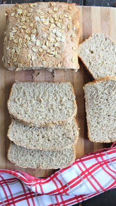 Homemade Sandwich Bread, Sandwich Bread Recipes, Apple Recipes, Gourmet Recipes, Multigrain, Food Print, Sandwiches, Brunch, Food And Drink