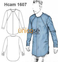 eebdc72912 CAMISA CUELLO REDONDO EXTRA LARGA HOMBRE Camisetas Largas Hombre