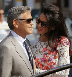 Irish crochet &: Amal Alamuddin dress.