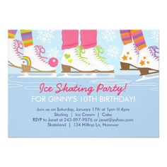 free printable ice skating party PRINTABLES FREEBIES DIY