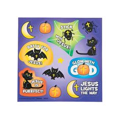 Little Boolievers Treat Pack Stickers - OrientalTrading.com