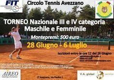 Alan Di Santo e Anastasia Piangerelli vincono il torneo di tennis di 3° categoria di Avezzano