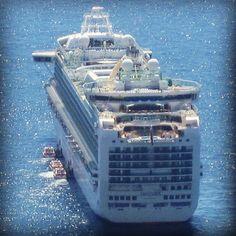 P Cruises, Ventura at anchor in Monaco