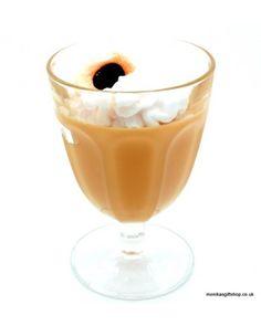 Cream coffee candle