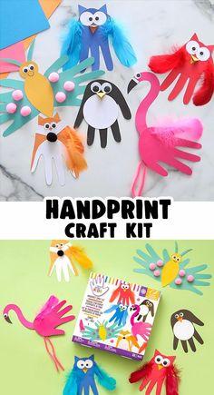 Handprint Craft Kit
