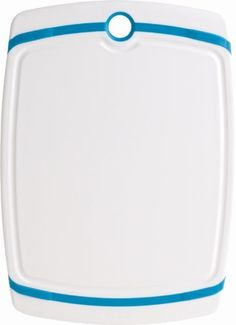 Trudeau Cutting Board with Blue Accents, 9 by 12-1/2-Inch by Trudeau. $9.99. Measures 9 by 12-1/2-Inch. By trudeau; 5-year warranty. Reversible cutting board with drain channel. Made of polypropylene. Non-slip, non-scratch; will not dull knives. The Trudeau Reversible Cutting Board helps to protect countertops and tabletops and keep them scratch free. Made from high-density polypropylene, this cutting board will not dull knife blades. It has a non-skid design to...