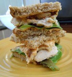 Grilled Chicken Sandwhich w/ Spicy Mayo