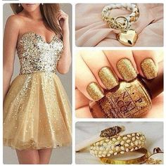 gold everywhere | Gold Everywhere!