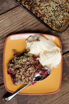 Raspberry, Oatmeal, and Hemp Seed Cobbler | Cupcake Project