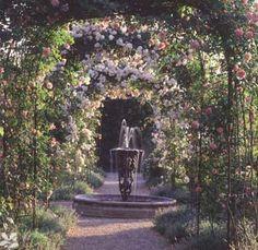 Rose Gardens, Nymans Gardens - National Trust