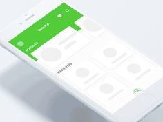 UI Movement - The best UI design inspiration, every day Best Ui Design, App Ui Design, Flat Design, Layout Design, Mobile Web Design, App Design Inspiration, Mobile App Ui, Music App, Interactive Design