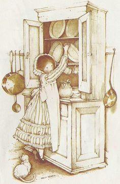 Holly Hobbie, cupboard