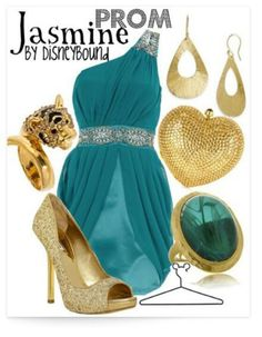 Jasmine outfit - by disneybound