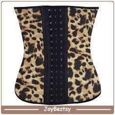 Классические латексные формирователь лучшее тело Формирователи для женщин Талия Cincher корсет Leopard шаблон