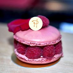 Also ate this today.  Rose flavored macaron with a rose petal on top, raspberries and raspberry creme with essence of rose....like a raspberry rose macaron sandwich. bombbbb