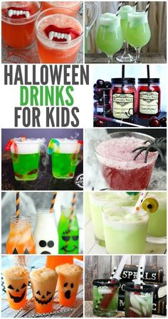 Planning a Halloween party and looking for the perfect Halloween drinks ideas that are sure to be a hit? We've rounded up some of our favorite kid friendly Halloween drink ideas that you won't want to miss. ideas Halloween Drinks That Are Sure to Be a Hit Halloween Desserts, Halloween Drinks Kids, Halloween Torte, Halloween Bebes, Fete Halloween, Halloween Food For Party, Halloween Birthday, Halloween Activities, Holidays Halloween