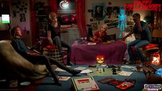 Bts - Hellaween game night by Mike-Kossi on DeviantArt Life Is Strange Fanart, Life Is Strange 3, Blue Haired Girl, Cry Now, Chloe Price, Night Aesthetic, Disney Marvel, Partners In Crime, Game Night