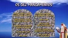 OS DEZ MANDAMENTOS DO SENHOR