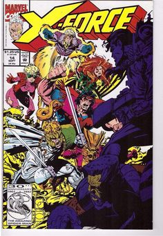 X-Force #14 Sept 1992 Marvel Comic Book Payback Cable Tolliver Grizzly Kane