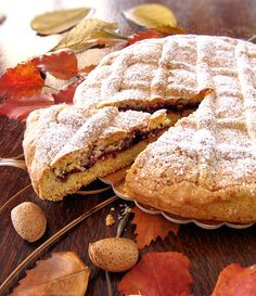Crostata nonna Ellia http://blog.giallozafferano.it/graficareincucina/crostata-nonna-ellia/