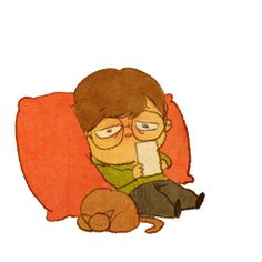♥  SLEEPYHEAD  ♥  by Puuung www.grafolio.com/works/225317&from=cr_ill  ♥