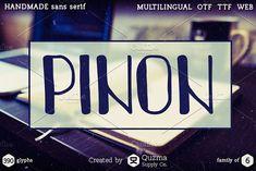 Pinon by Quzma Supply Co. on @creativemarket