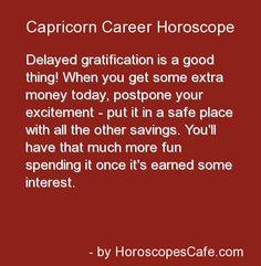 Capricorn Career Horoscope