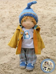 Arthur - waldorf inspired boy doll by Lalinda.pl | Agnieszka Nowak | Flickr