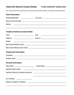 Client Consultation Form  Cretdecor    Salons Salon