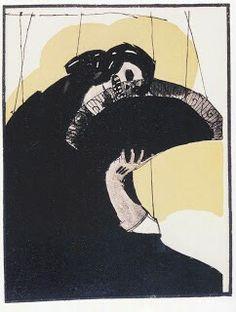 Fantoches da Meia Noite - Di Calvacanti, 1921.