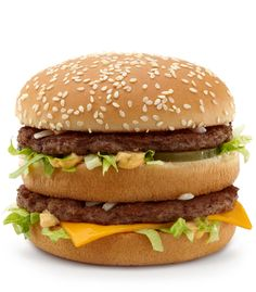 The one, the only, the Big Mac - a classic favorite around the world    #mcdonalds #McDonald's #bigmac