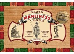 #holidaygiftguide #2015 #men The Art of Manliness Collection (Paperback)
