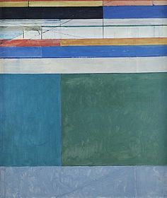 I chose this pin as my profile picture because it says so much about my overall aesthetic.  It is an optimistic representation.  It has colors that soothe me.  It is modern.  It has an urban feel.   This is Richard Diebenkorn (American, 1922-93)  My top pin on my board: ART + PAINTING