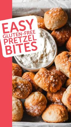 Gluten Free Pretzels, Gluten Free Appetizers, Gluten Free Recipes For Dinner, Healthy Gluten Free Recipes, Gluten Free Cooking, Gluten Free Desserts, Gluten Free Dinners, Gluten Free Kids Snacks, Dinner Recipes