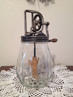 Antique Dazey Butter Churn No. 4 by FireFly5Girl on Etsy, $178.00
