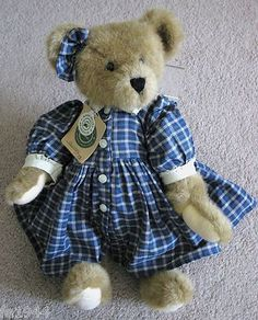 "Collectable Boyds Bear Courtney 17"" 1990 1997"