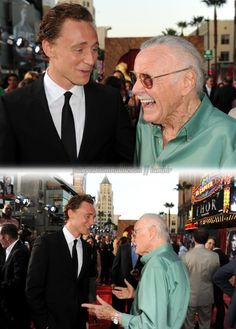Tom and Stan the Man too cute:)