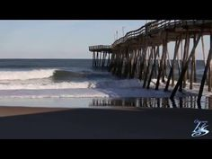 A little beach therapy to help you get through the day. #OuterBanks #OBX #KillDevilHIlls #AvalonPier