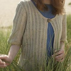 Portmellon Cardigan by Sian Brown -  - Downloadable Knitting Pattern - Blacker Designs