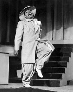 1940s fashion... (The amazing Cab Callowy):  With roots in jazz and swing clubs of the 1930s and 1940s, the zoot-suit was a statement, a refusal by the Afro, Mexican and Italian American subcultures. The swinging zoot-suit was a gesture that refused to concede to the manners of conformity.
