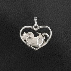 Sterling Silver Calico Cat Pendant.    25% off through May 10th.  Apply Coupon MOTHERSDAYOFF25 at register