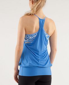 No Limits Tank from Lululemon.  want!