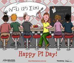 """i 8 sum pi"" or in normal people speak...I ate some Pi! Happy Pi Day!"