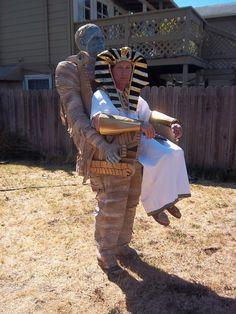 Mummy Illusion Costume by GypsyCatStudios on Etsy, $500.00