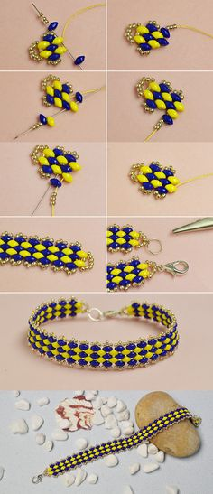 Like this 2-hole seed beads bracelet?The details will be published by LC.Pandahall.com soon.
