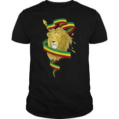Awesome Tee Reggae Lion Zion T shirts