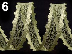 Stuha šíře 25mm vzdušná krajková Crochet Necklace, Fashion, Tatoo, Moda, Crochet Collar, Fashion Styles, Fasion