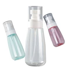 Cosmetic container Portable fine mist spray skincare bottles Plastic Spray Bottle, Cosmetic Containers, Mist Spray, Make Up Remover, Mists, Lotion, Bottles, Skincare, Water Bottle