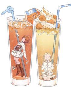 One orange Emma juice Anime Chibi, Kawaii Anime, Anime Manga, Kawaii Art, Haikyuu, Desenhos Love, Image Manga, Another Anime, Anime Art Girl