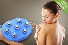 Luva para massagem corporal anticelulite, por apenas R$29.90